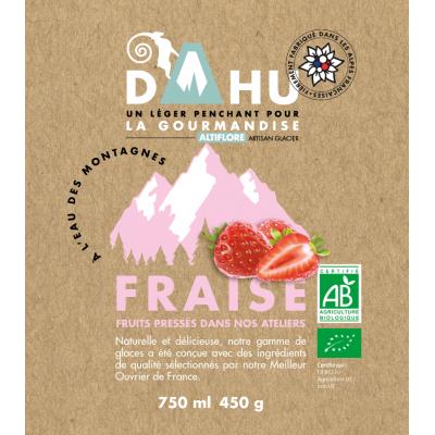Organic Strawberry Sorbet...